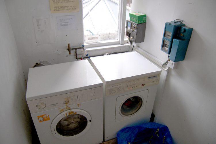 desatascar el desague de la lavadora